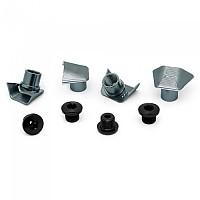 [해외]ABSOLUTE BLACK Ultegra 8000 Covers With Bolts 1137576610 Grey