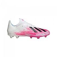 [해외]아디다스 X 19.2 FG Footwear White / Core Black / Shock Pink