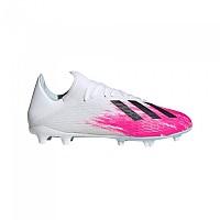 [해외]아디다스 X 19.3 FG Footwear White / Core Black / Shock Pink