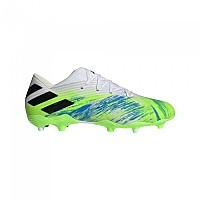 [해외]아디다스 Nemeziz 19.2 FG Footwear White / Core Black / Signal Green