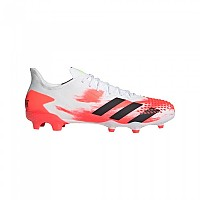 [해외]아디다스 Predator 20.2 FG Footwear White / Core Black / Pop