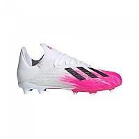 [해외]아디다스 X 19.3 FG Footwear White / Chalix White / Shock Pink