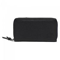[해외]허쉘 Thomas 레더 RFID Black Pebbled Leather