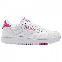 [해외]리복 CLASSICS 클럽 C 더블 White / White / Proud Pink