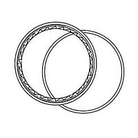 [해외]FULCRUM RM0-031 오프-로드 Silver