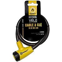 [해외]AUVRAY Key 케이블 Lock 12mm Black / Yellow