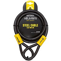 [해외]AUVRAY 스틸cable 12mm Black / Yellow