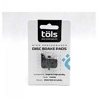 [해외]TOLS Organic Brake Pads 스램 레드 22/레벨 Black / White