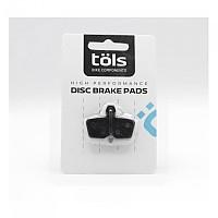 [해외]TOLS Organic Brake Pads Avid 코어 Black / White