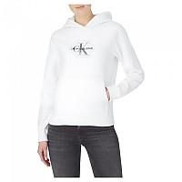 [해외]캘빈클라인 JEANS Glitter Monogram Hoodie 137649880 Bright White