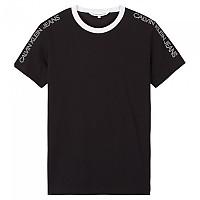 [해외]캘빈클라인 JEANS Outline Logo Shoulder 137649911 Ck Black