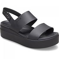 [해외]크록스 Crocs Brooklyn Low Wedge Woman137684590 Black / Black
