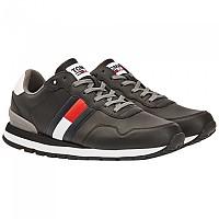 [해외]타미힐피거 Tommy Jeans Lifestyle Lea Runner Man137653630 Black
