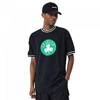 [해외]뉴에라 NBA Oversized Applique Boston Celtics 137646301 Black