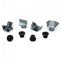 [해외]ABSOLUTE BLACK Ultegra 6800 Covers With Bolts 1137576612 Grey