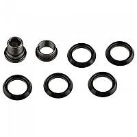 [해외]스램 Chainring CX1 Spacers Kit 5 Units 1137671035 Black