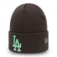 [해외]뉴에라 League Essential Cuff Knit Los Angeles Dodgers 137646370 Grey Heather
