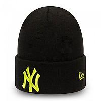 [해외]뉴에라 League Essential Cuff Knit New York Yankees 137646371 Black