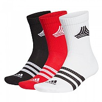 [해외]아디다스 Fs 3 Stripes Crew 3137664196 Scarlet / Black / White