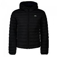 [해외]라코스테 Lightweight Foldable Hooded Water-Resistant Pufffer 137648499 Black