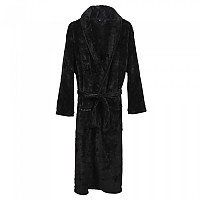 [해외]CERDA GROUP Dressing Gown Embroidery Coral Fleece Black