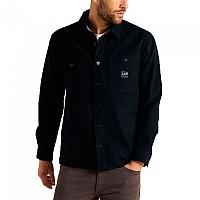 [해외]LEE Box Pocket Overshirt 137607846 Black