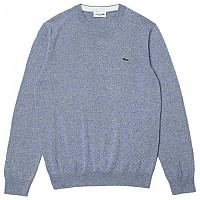 [해외]라코스테 Classic Fit Crew Organic Cotton 137684960 Light Indigo Blue