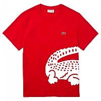 [해외]라코스테 Oversized Crocodile Print 137500268 Red