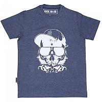 [해외]ROCK OR DIE Skull Crew 9137284546 Navy