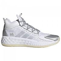 [해외]아디다스 Pro Boost Mid Man3137669113 Ftwr White / Silver Metalic / Chalk White
