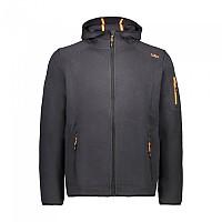 [해외]CMP Man Jacket Fix Hood 5137698814 Antracite / Orange Fluo