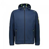 [해외]CMP Man Jacket Fix Hood 5137698816 Blue Ink / Yellow Fluo