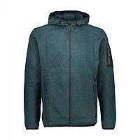 [해외]CMP Man Jacket Fix Hood 5137698817 Petrolio Melange / Petrolio