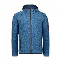 [해외]CMP Man Jacket Fix Hood 5137698819 River Melange / Antracite