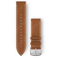 [해외]가민 Quick Release Leather Strap 4137765749 Tan