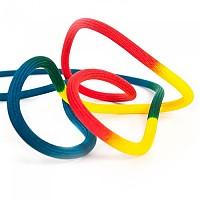 [해외]FIXE CLIMBING GEAR Rainbow 9.6 mm 4137758584 Black / Red / Yellow