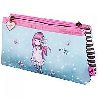 [해외]SAFTA Gorjuss Sparkle & Bloom Double Pencil Case 137760500 Cherry Blossom