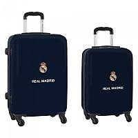 [해외]SAFTA Real Madrid Away 20/21 Cabin Set 60L+40L 2 Units 137771455 Navy / White / Black