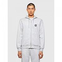 [해외]디젤 Girk Hood Zip K1 137580339 Grey Melange