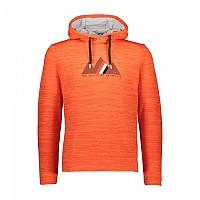 [해외]CMP Man Sweat Fix Hood 4137702259 Orange Fluo Melange
