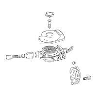 [해외]스램 GX Eagle Lunar Shift Lever Trigger Cover Kit 1137670646 Black