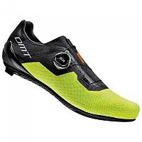 [해외]DMT KR4 Road Shoes 1137936070 Black / Yellow Fluo