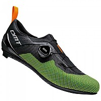 [해외]DMT KT4 Road Shoes 1137936072 Black / Yellow Fluo