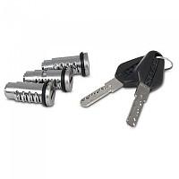 [해외]샤드 Terra Lock&Key System 9137918578 Silver / Black