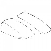 [해외]샤드 Aluminium Left&Right Cover SH23 9137918580