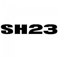 [해외]샤드 SH23 Aluminium Logo Sticker 9137923288