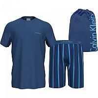 [해외]캘빈클라인 언더웨어 S/S Short Set Anchor Blue Top / Sunbeam Stripe