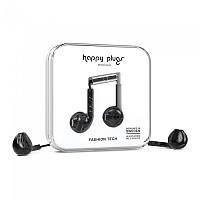 [해외]HAPPY PLUGS Earbud Plus Wired Black Marble