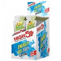 [해외]HIGH5 Energy Gel Aqua Caffeine 66gr x 20 Gels 1137814196