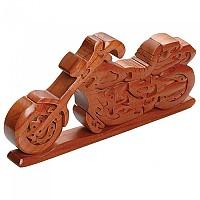 [해외]BOOSTER Chopper Motorcycle Wood Puzzle 9137888973 Brown